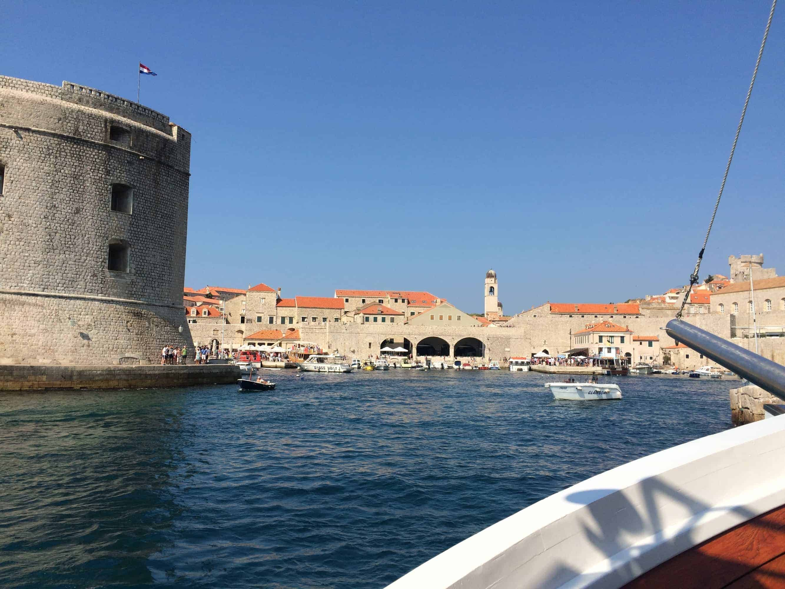Discover dubrovnik old town guided walking tour - Old Town Harbour Dubrovnik