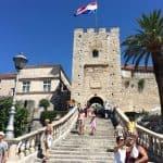 Korčula Old town gate