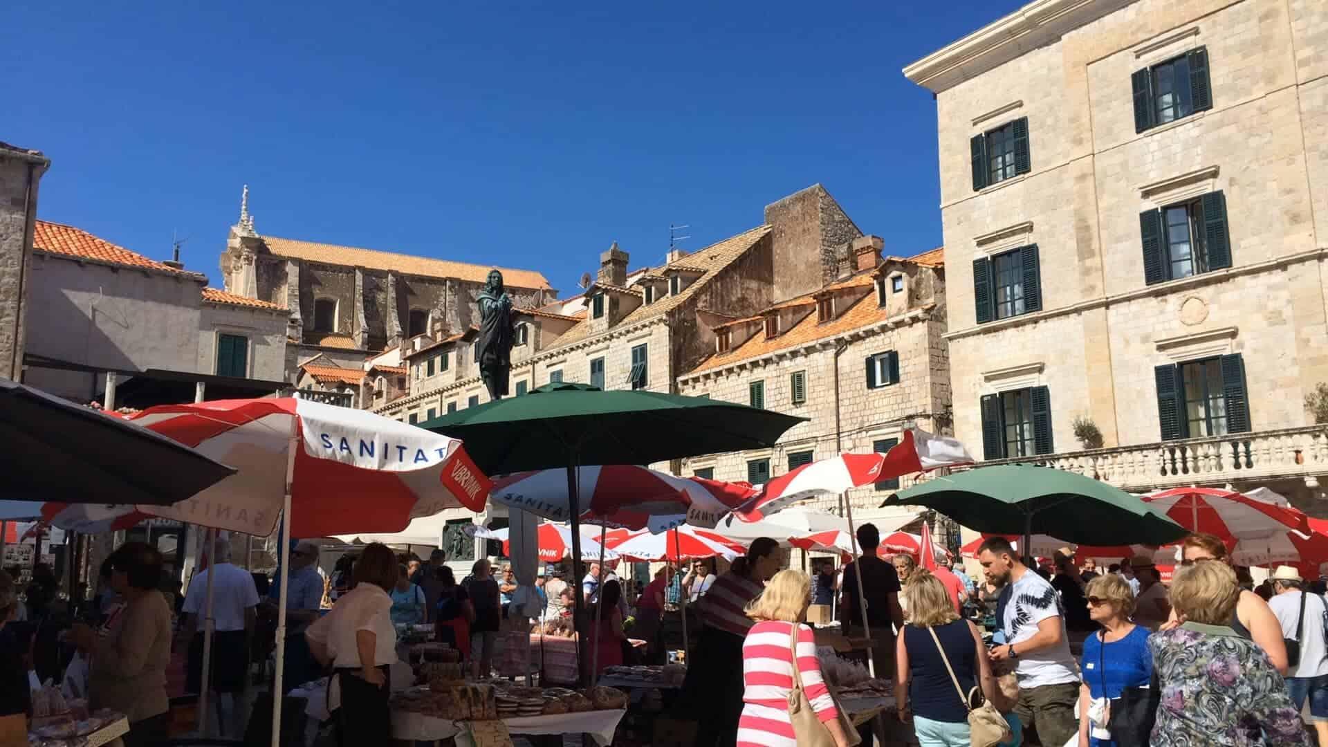 Discover dubrovnik old town guided walking tour - Morning Market Dubrovnik
