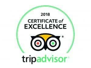 Perfect Travel Croatia Certificate of Excellence 2018