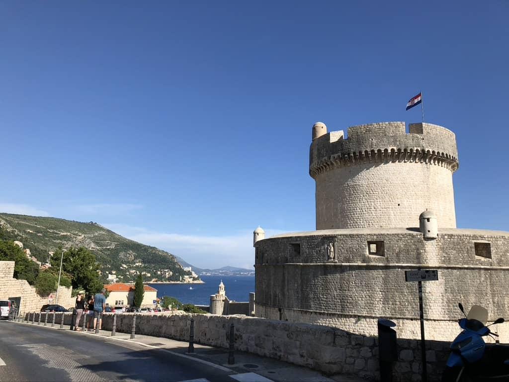 Dubrovnik Minceta tower
