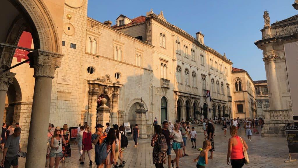 Dubrovnik Luza square