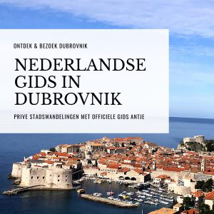 Nederlandse gids in Dubrovnik