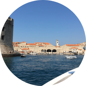 Dubrovnik old town harborr