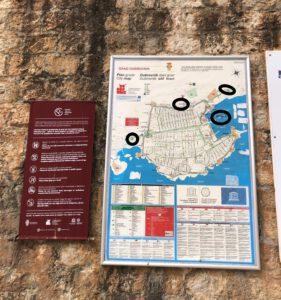 Stadspoorten van Dubrovnik