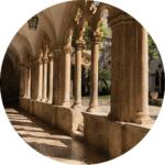 Dominicain cloister Dubrovnik
