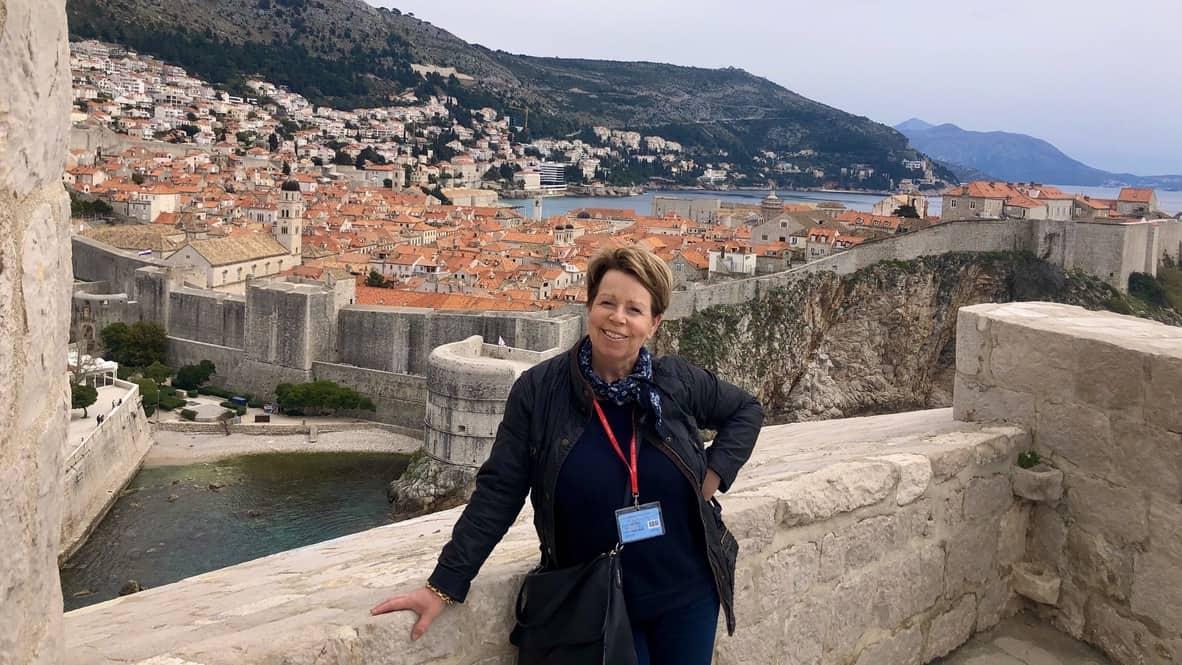 Gids Antje, panorama Dubrovnik
