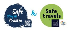 Safe stay in Croatia & WTTC Safe travel