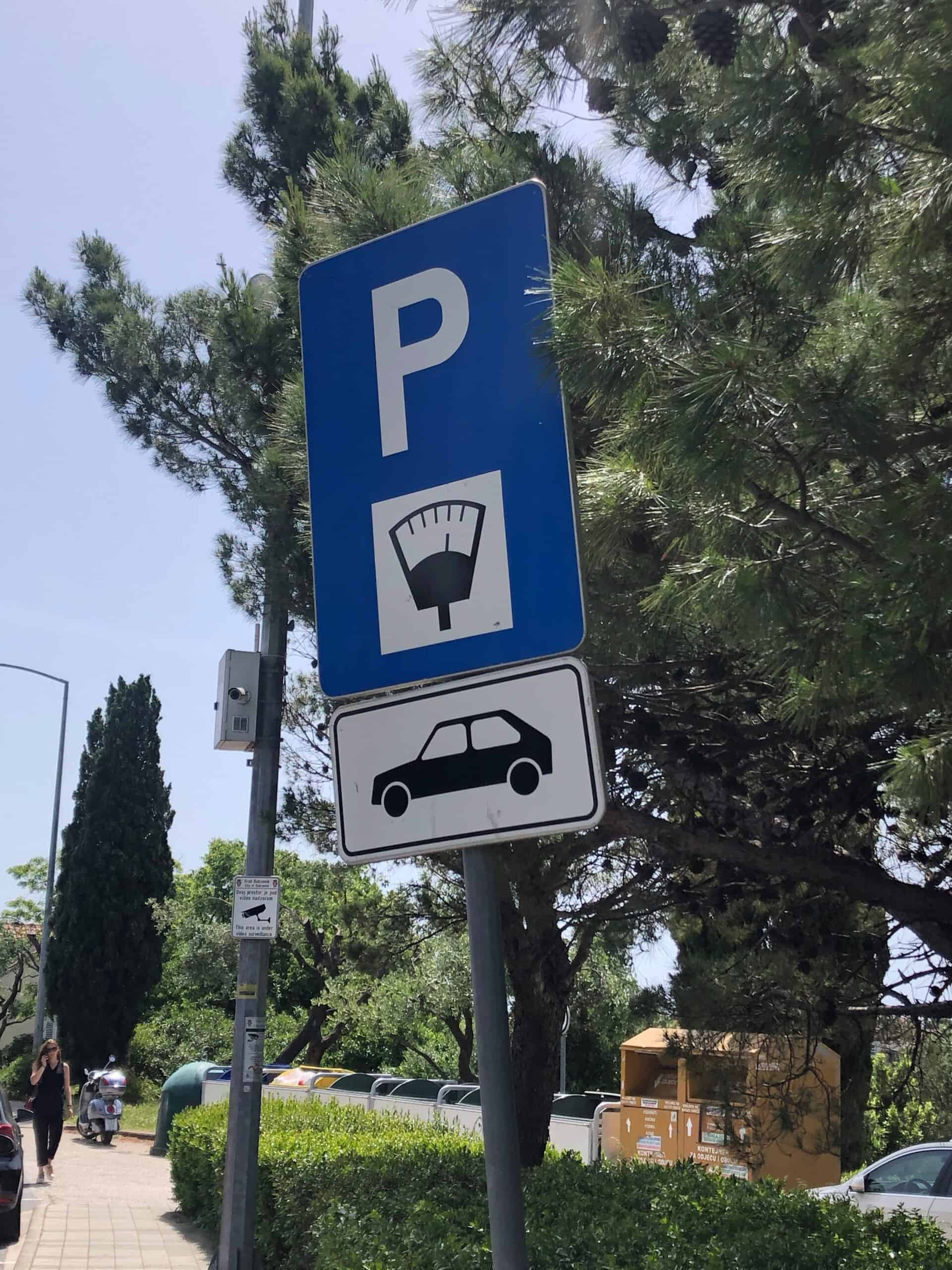 Dubrovnik parkeermeter