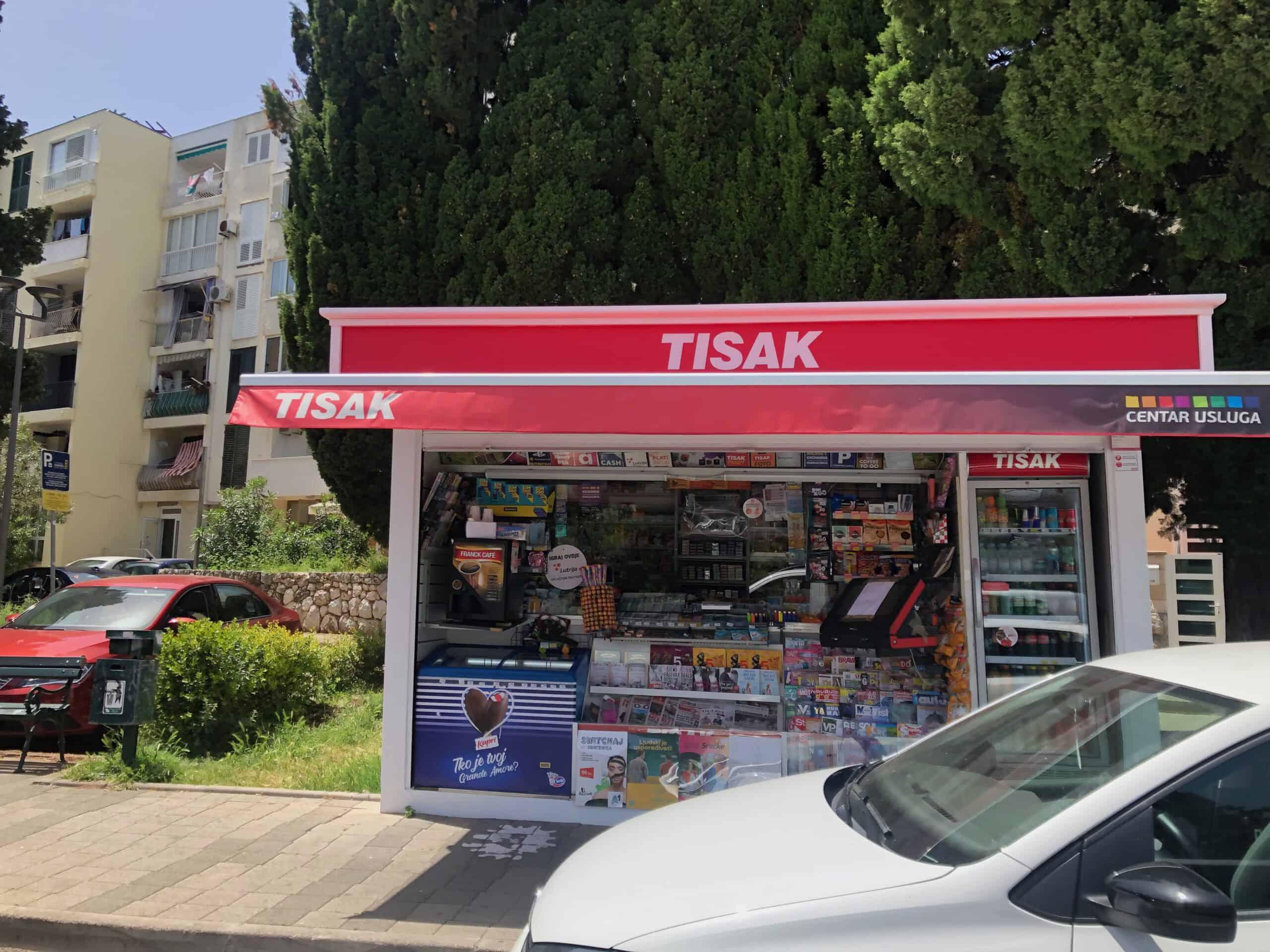 Tisak kiosk Dubrovnik